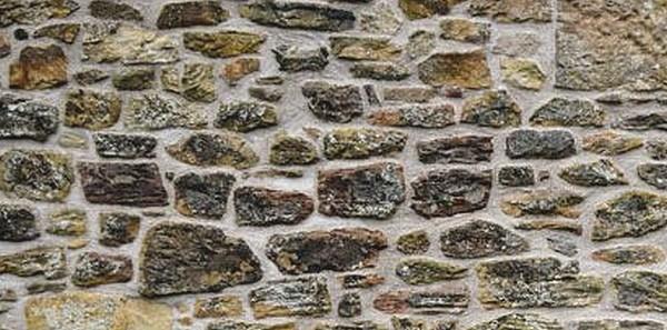 rejointement façade en pierre finition brossé couleur grisé a la chaux