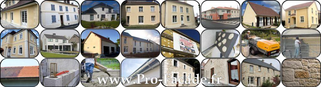 Les réalisation de l'entreprise pro façade