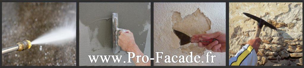 Préparation des supports avant isoler par l'extérieur.